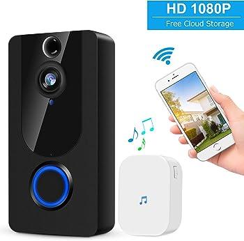 Kamep 1080p Wireless Video Doorbell