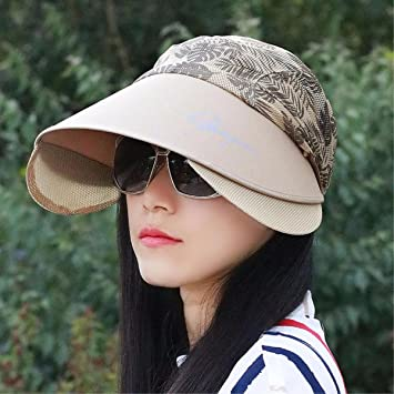 RangYR Sombrero De Mujer Sra. Cap Gorra De Ciclismo De Verano Neutral  Plegable Al Aire 64dcc7e4443