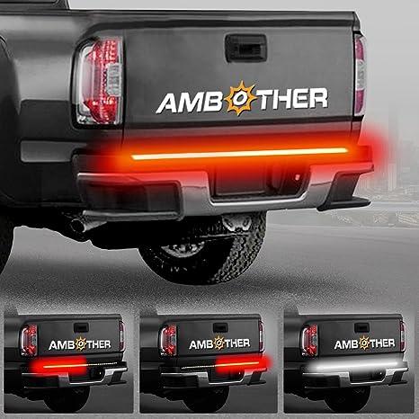 Ambother 5 Function 48 49 Truck Tailgate Side Bed Light Strip Bar 3528 72led Waterproof Ip67 Turn Signal Parking Brake Reverse Lights For