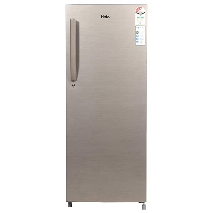 Haier 220 L 3 Star Direct Cool Single Door Refrigerator  HED 22TDS, Dazzle Steel