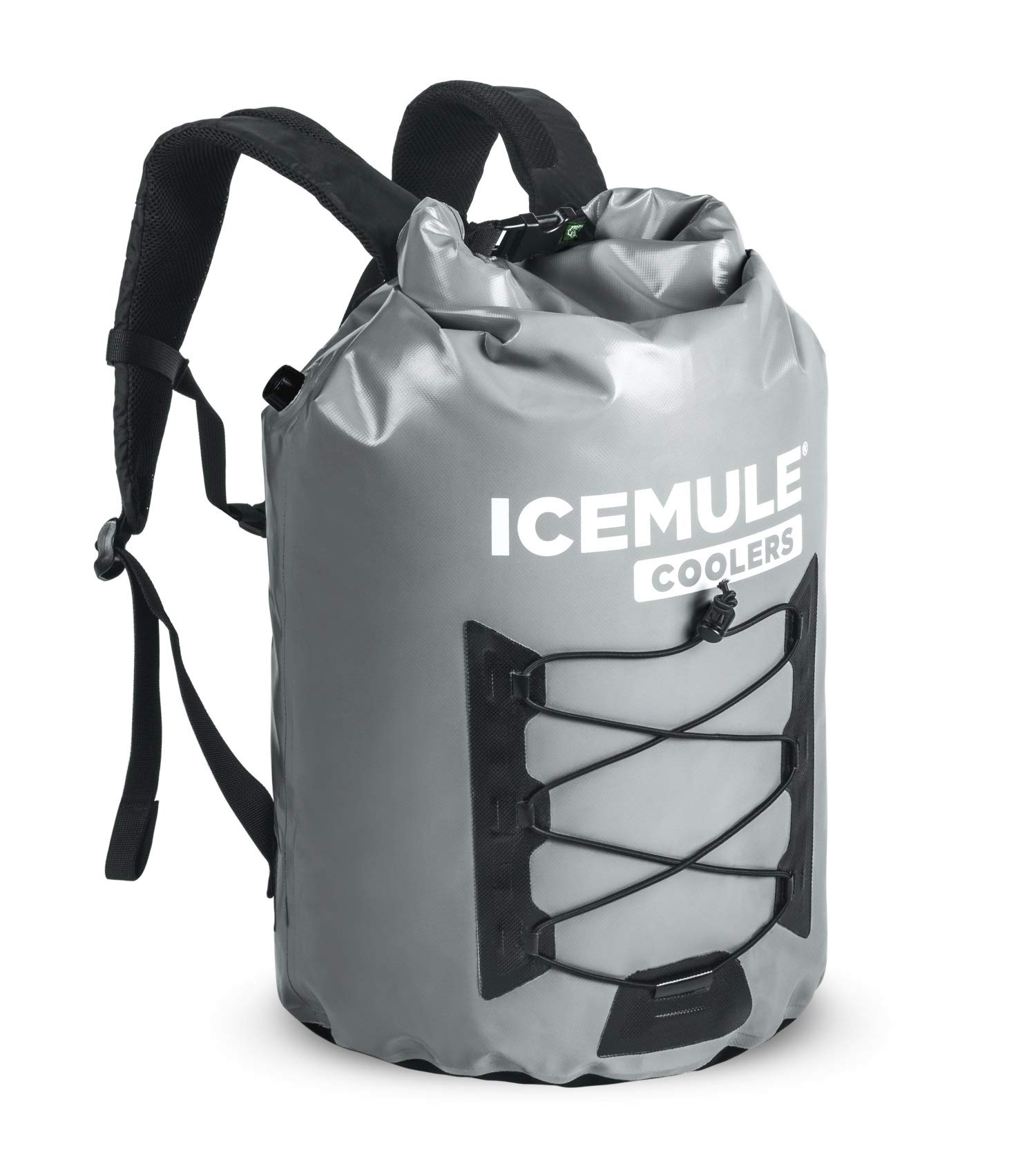 ICEMULE Pro Insulated Backpack Cooler Bag - Hands-free, Highly-Portable, Collapsible, Waterproof and Soft-Sided Cooler Backpack for Hiking, the Beach, Picnics, Camping, Fishing - 23 Liters, 20 Can by IceMule