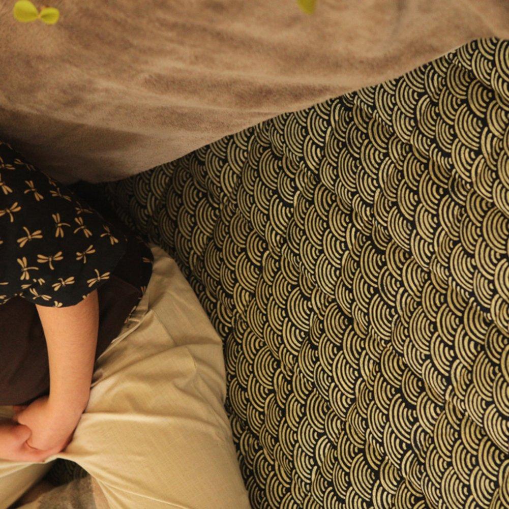 Plus cotton Tatami floor mat,Folding mattress Floor lounger cover Floor mattress Tatami mats Carpet Game pad-A 138x180cm(54x71inch)