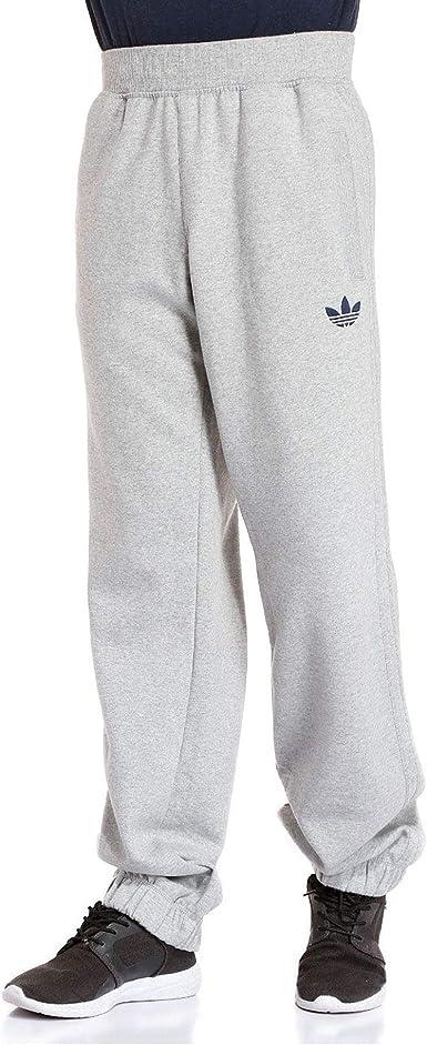 adidas Originals SPO Hombres Sports Fleece Pantalones Jogger (Grey ...
