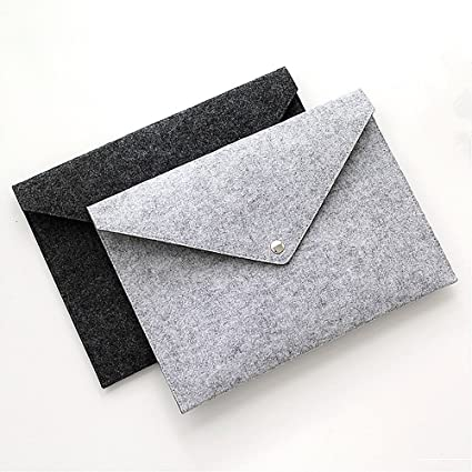 File folders-Felt Folder Expanding File Folder Portable Felt Holder  documents Envelope Luxury Office Durable 3c87bc86a