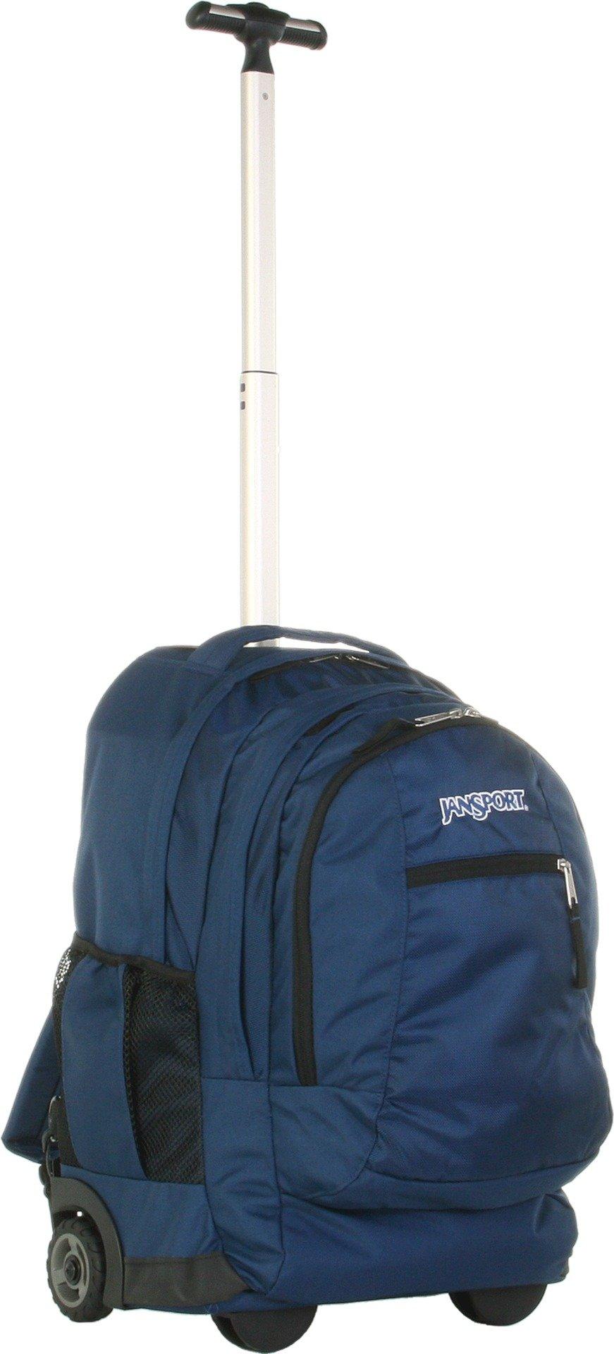 Jansport Driver 8 Wheeled Backpack (Navy) by JanSport