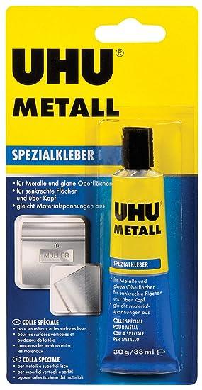 UHU Pegamento especial para metal, 30 g en tubo, 46670: Amazon.es: Bricolaje y herramientas