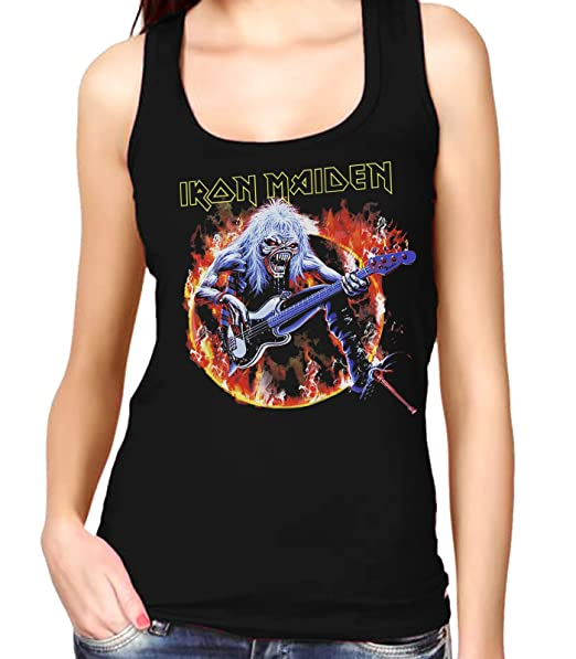 35mm - Camiseta Mujer Tirantes - Iron Maiden - Steve Harris - Womens Tank Top