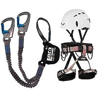 LACD Klettersteigset Ferrata Pro Evo Gurt Start + Helm Salewa Toxo