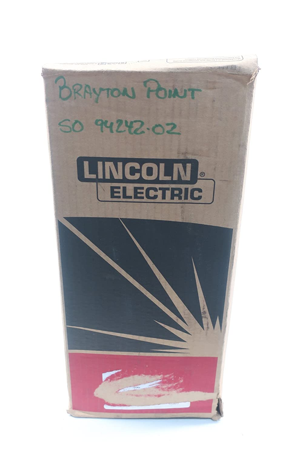 NEW LINCOLN ELECTRIC EDM13182833 MUREX B7018 MR ELECTRODE 3/32IN 50LB D609708: Amazon.com: Industrial & Scientific