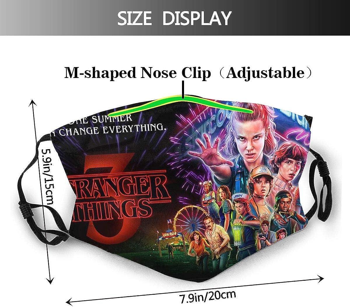 NanYangShiZhiDa Str/_Anger Th/_ings Soft and Warm Throw Blanket Digital Printed Ultra-Soft Micro Fleece Blanket Facial Protection