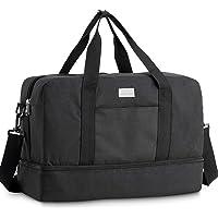 HOKEMP Gym Bag For Women Men Sport Duffel Bag with Shoes Compartment, Swim Bag Travel Tote Luggage Shoulder Bag