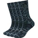 Enerwear 4 Pack Women's Merino Wool Outdoor Hiking Trail Crew Sock