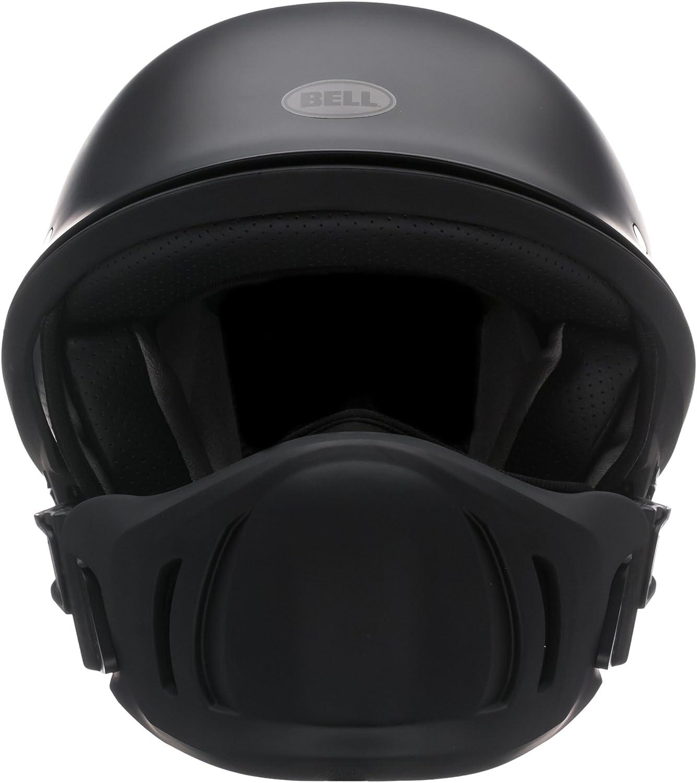 Bell Rogue Half-Size Motorcycle Helmet Solid Matte Black, Large Rogue Cruiser
