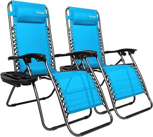 Bonnlo Infinity Zero Gravity Chair Pack 2