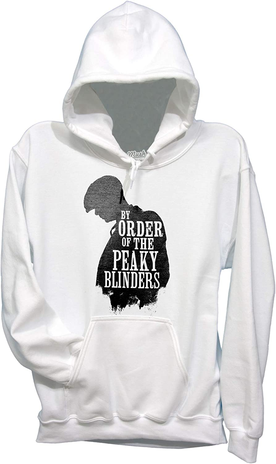 BY Order of The Peaky Blinders Thomas Shelby MUSH T-Shirt Nera Serie TV