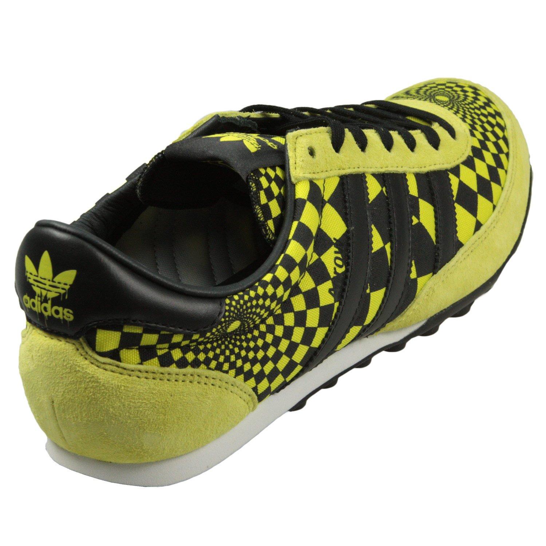sports shoes 74ab5 07342 adidas Scarpe Jeremy Scott JS Freccia Opart da Uomo Nero Giallo Guide,  Giallo (Yellow), 43 EU  Amazon.it  Scarpe e borse