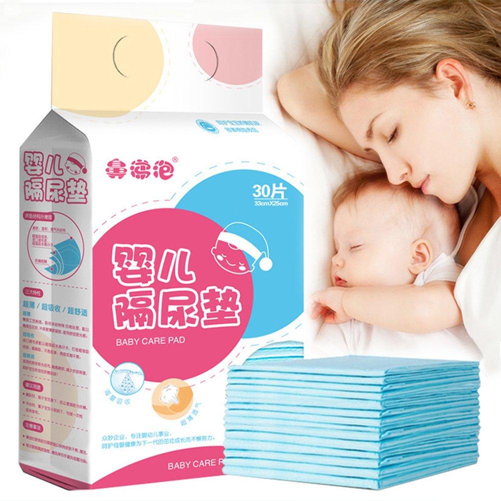 20pcs Pueri 20pcs Cambiadores Pa/ñales Desechables para Beb/és Almohadillas Absorbentes Urinales para Beb/és Mantas de Cambiadores para Cunas