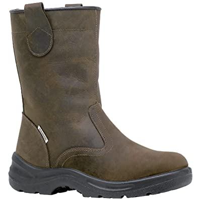 Bottes Fourrees KAMA S3 Taille 45 CUIR MARRON -… iOfapnyMMD