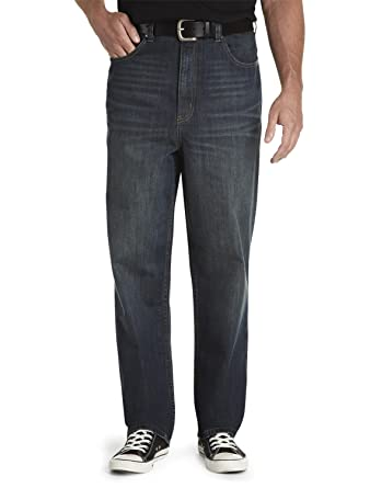 edf0eb98ebf True Nation by DXL Big and Tall Loose-Fit Jeans at Amazon Men s ...