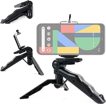 DURAGADGET Mini Trípode/Selfie Stick Compatible con Smartphone ...