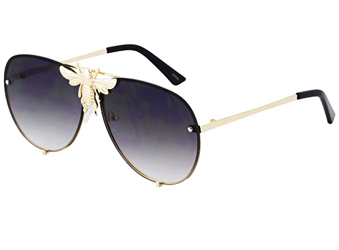 Amazon.com: Flawless – Gafas de sol Pilot, marco de metal ...