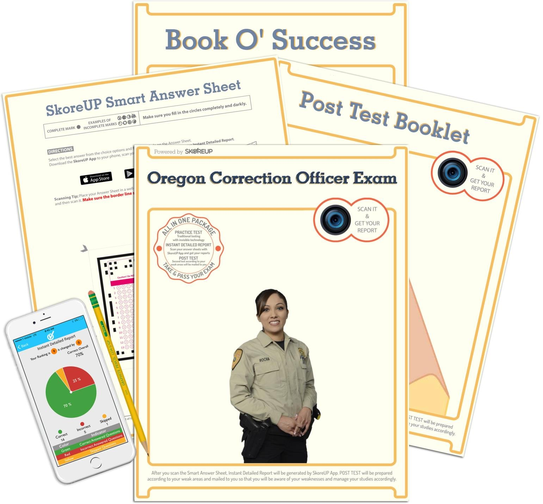 Oregon Correction Officer Exam, OR Test Prep, Study Guide: SkoreUP LLC:  0614665589871: Amazon.com: Books