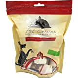 "Pet Cuisine Dog Training Snacks Puppy Chewy Dental Treats, Duck Wrap Knotted Bones-4.5"", 250g"