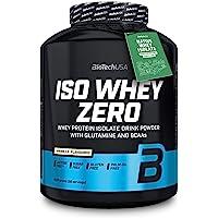 BioTechUSA Iso Whey ZERO, Lactose, Gluten, Sugar FREE, Premium Whey Protein Isolate, 2.27 kg, Vanilla