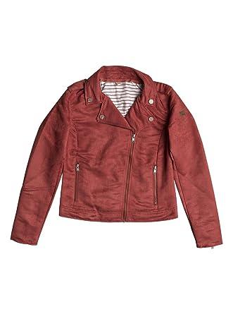 f795c921645e6 Roxy - - Veste Moto Lovespell pour Jeune Femme, X-Small, Tandoori Spice