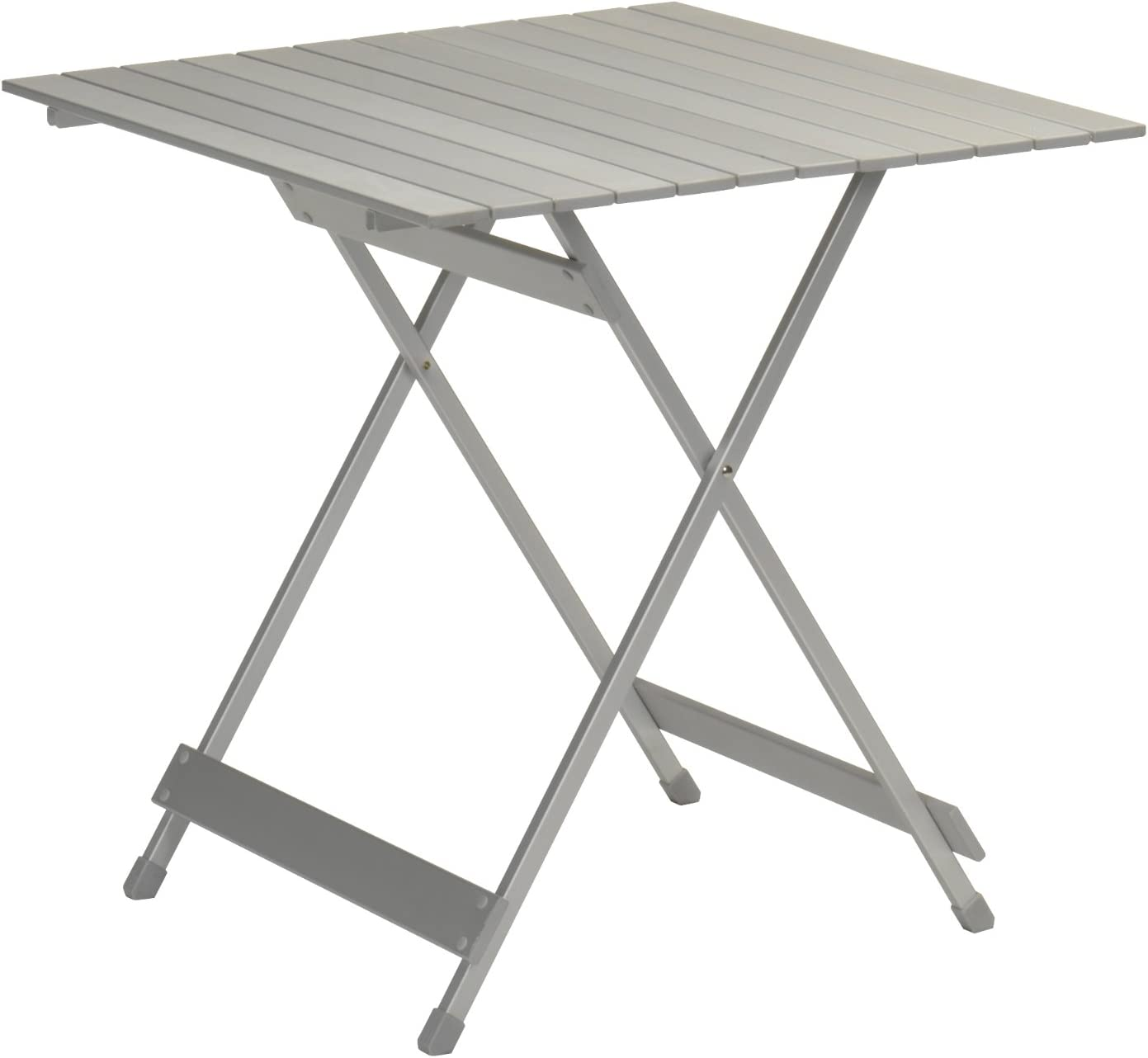 150 x 80 cm Mesa de camping Campart Travel TA-0795 Plegable Aluminio