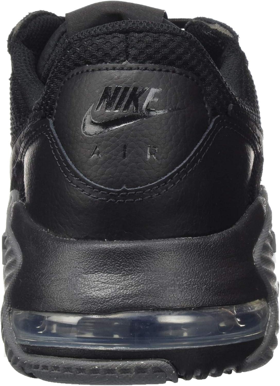 Nike Air Max Excee, Basket Homme Noir Noir Gris Foncé
