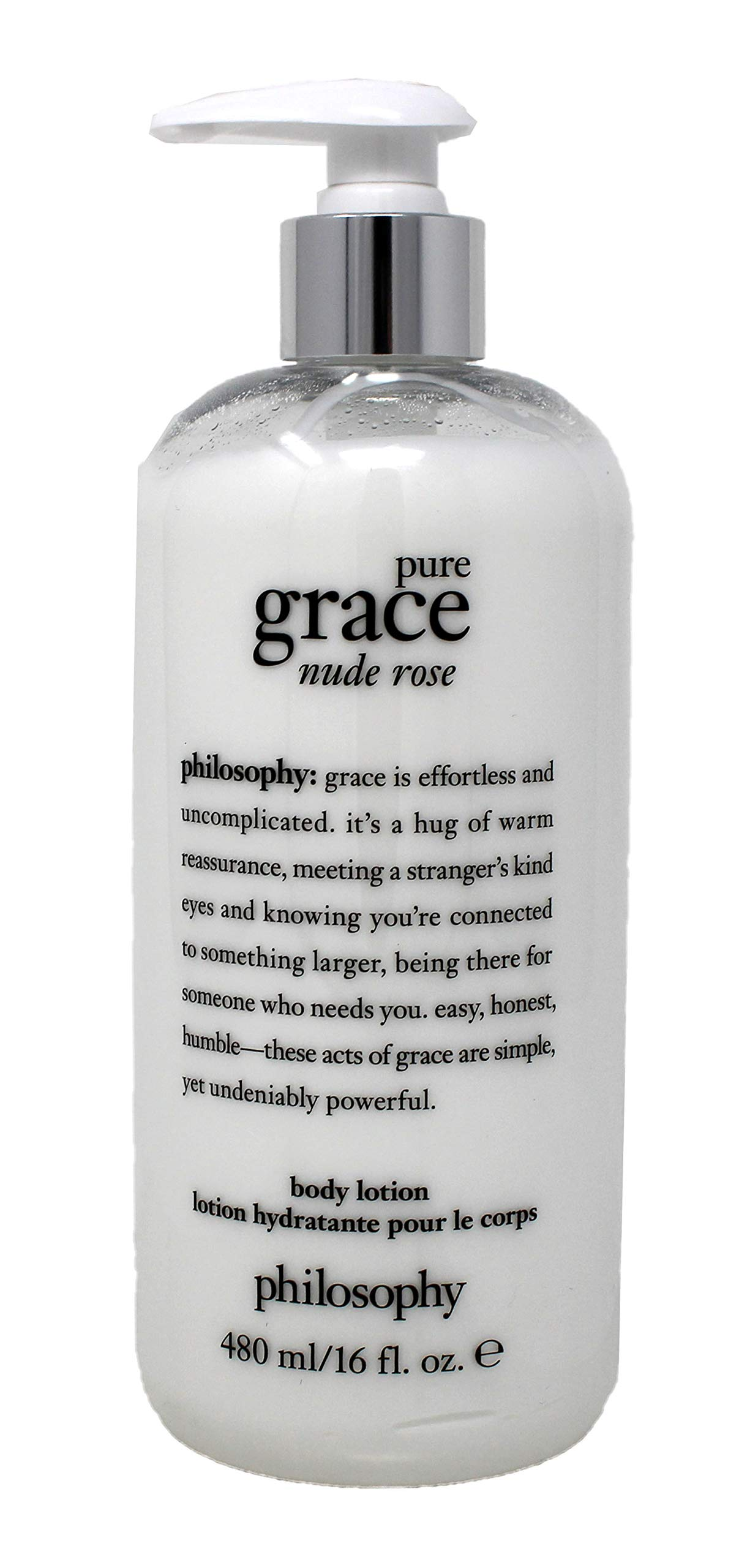 Pure Grace Nude Rose Body Lotion, 16 Fl Oz by Philosophy