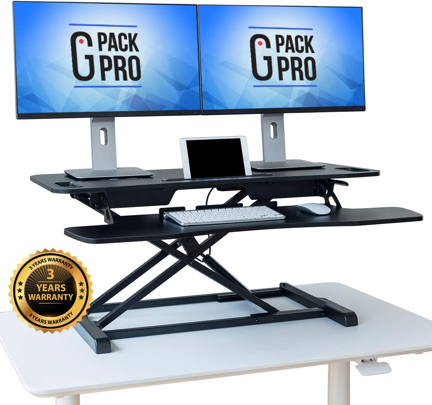 """G-PACK PRO - Standing Desk Converter 