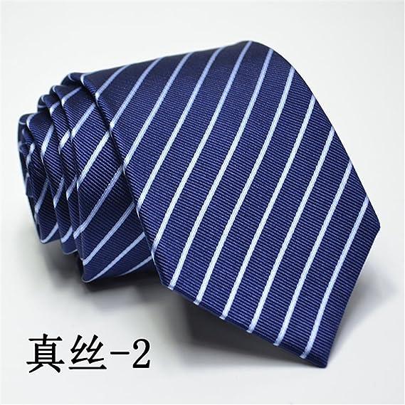 LXJ Tie Corbata de vestir, seda, seda, novio ceremonial de los ...