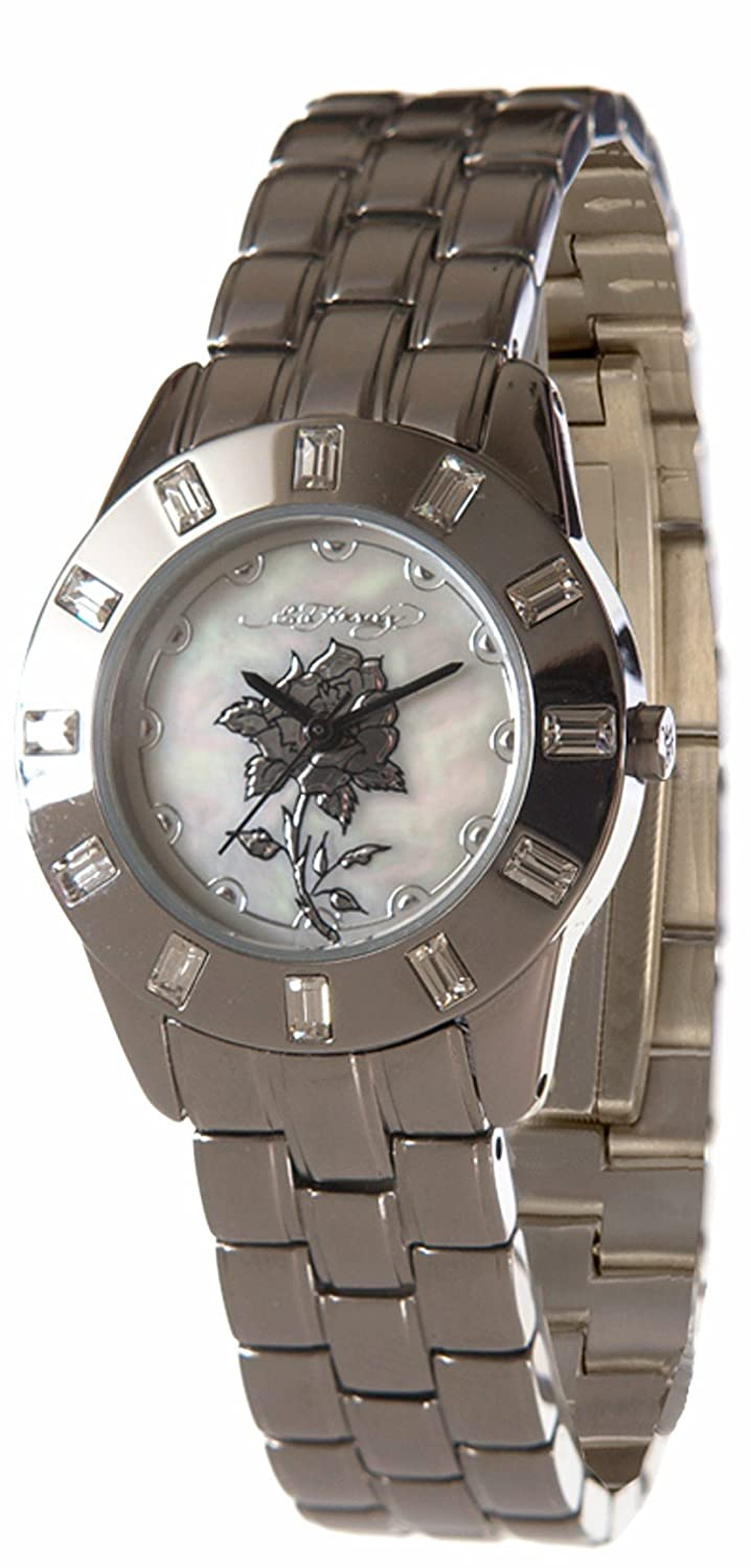 Amazon.com  Ed Hardy Women s Chic Limited Stainless Steel 316L Watch  Ed  Hardy  Watches 007f6e601a
