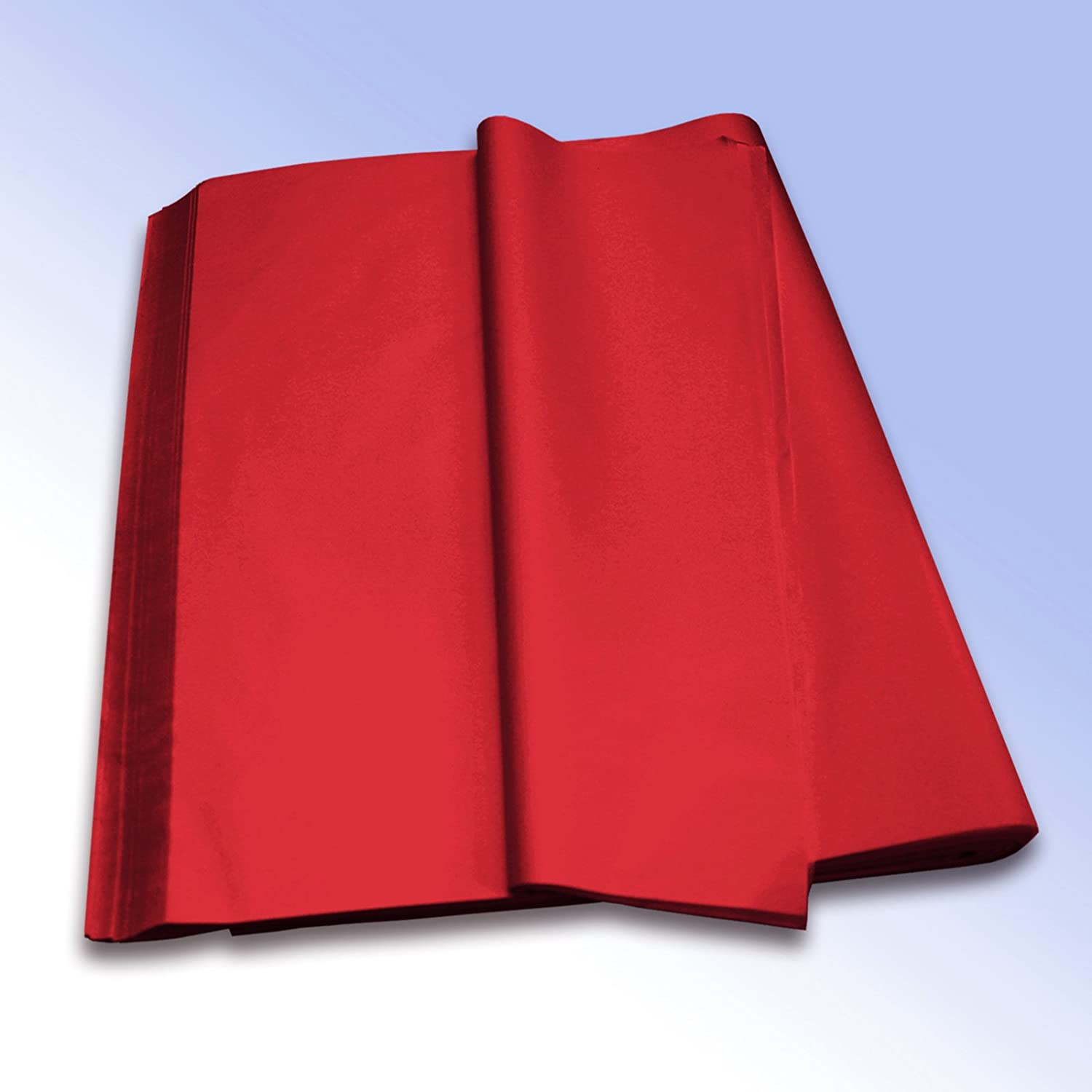 1 Ream (480 Sheets) of Red High Quality Pure MG Tissue Paper (Acid Free) 500mm x 750mm 20x30