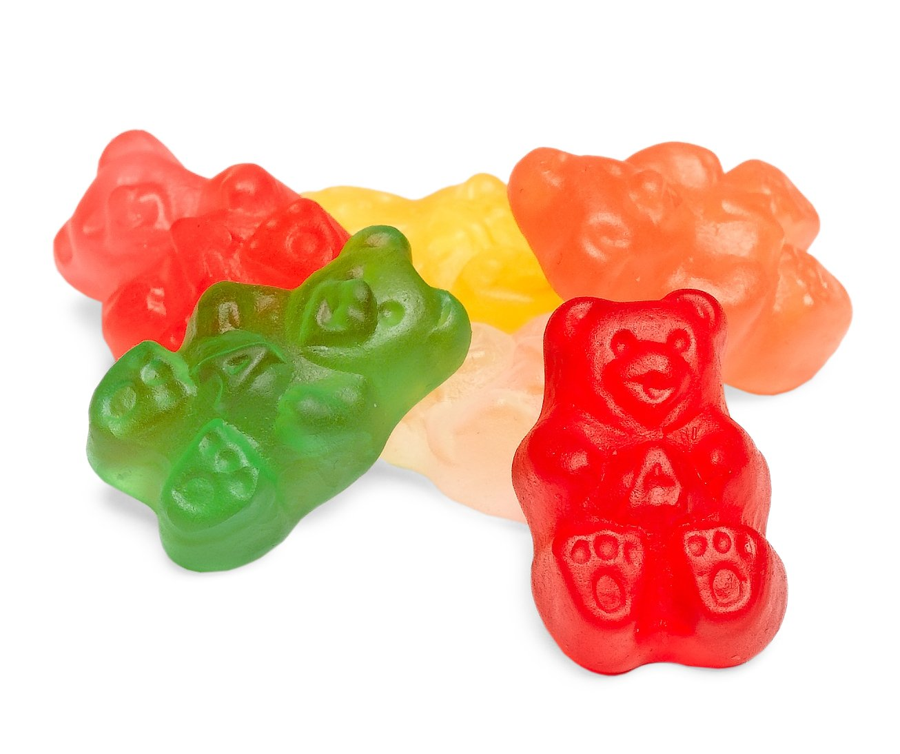 Albanese Assorted Gummi Bears, Sugar Free, 5-Pound Bags (Pack of 2)