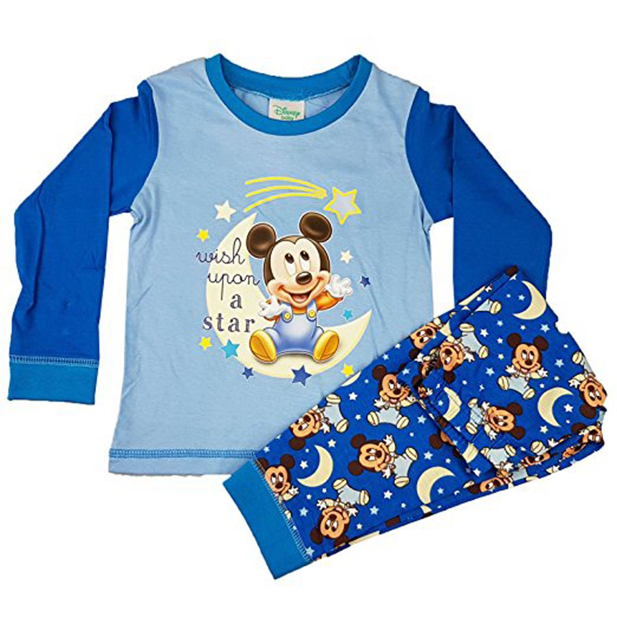 Disney Mickey Mouse Baby Boys Pyjamas
