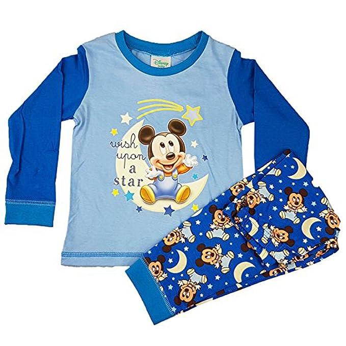 1a0d2fdad DISNEY, MICKEY MOUSE - Pijama entero - para bebé niño: Amazon.es: Ropa y  accesorios