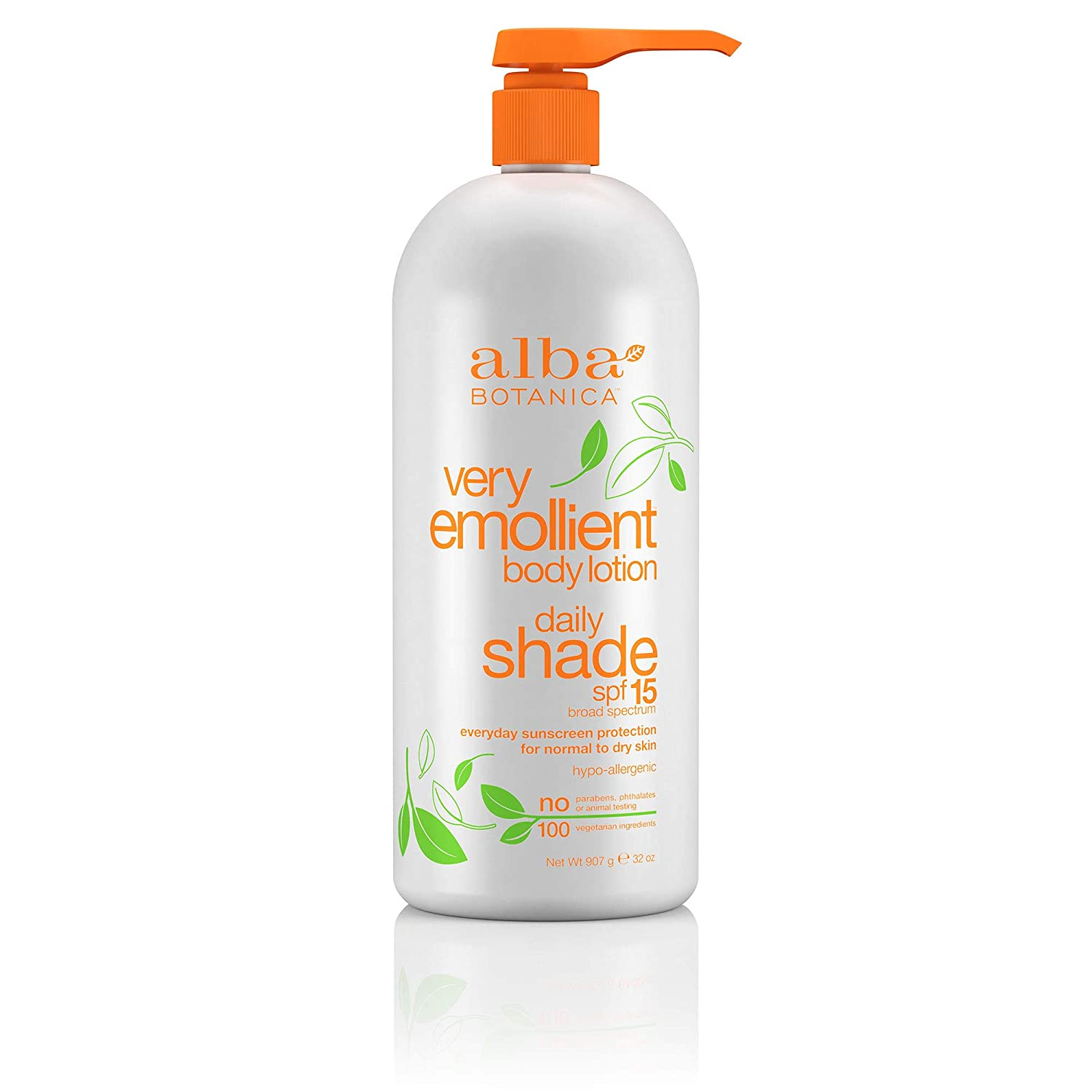 Alba Botanica Very Emollient, Daily Shade Lotion SPF 15