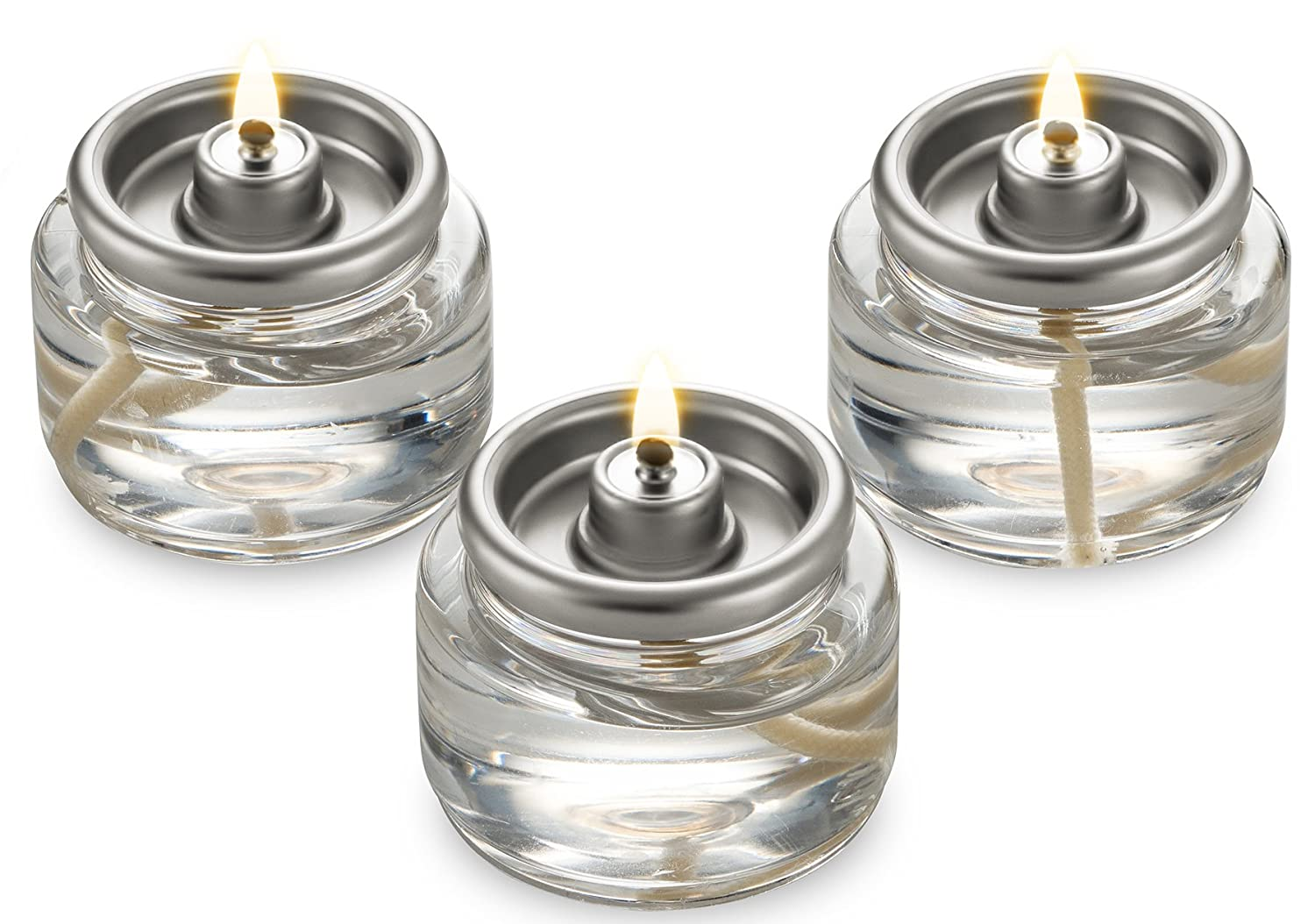 Tealight Fuel Cells Liquid Paraffin 8 Hour Burn - 20 Pack - Disposable Candle Charisma