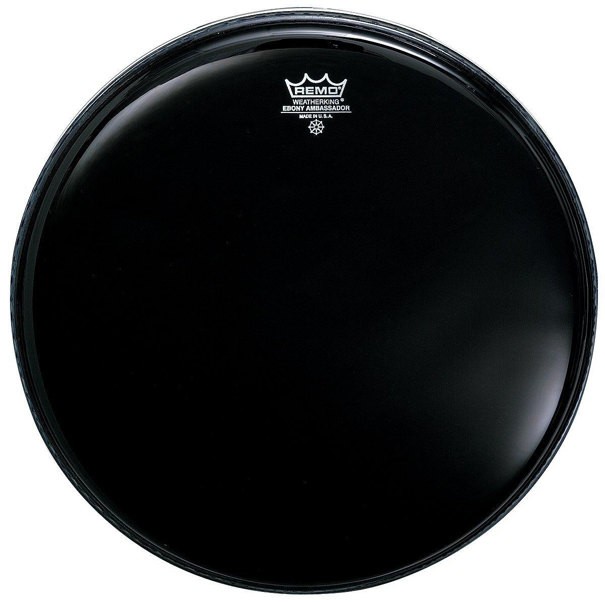 Remo ES001600 Ebony Ambassador Drum Head, 16-Inch Remo Inc. ES0016-00
