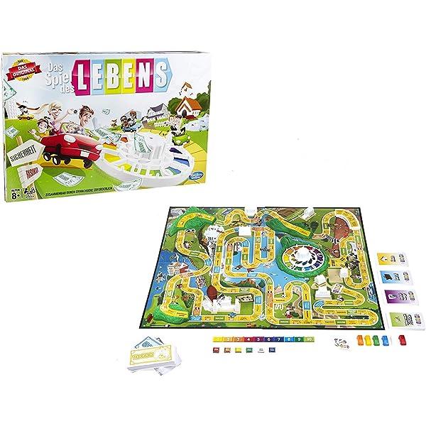 Hasbro 14529594 Niños Simulación económica - Juego de Tablero (Simulación económica, Niños, 45 min, Niño/niña, 8 año(s), Alemán): Amazon.es: Juguetes y juegos