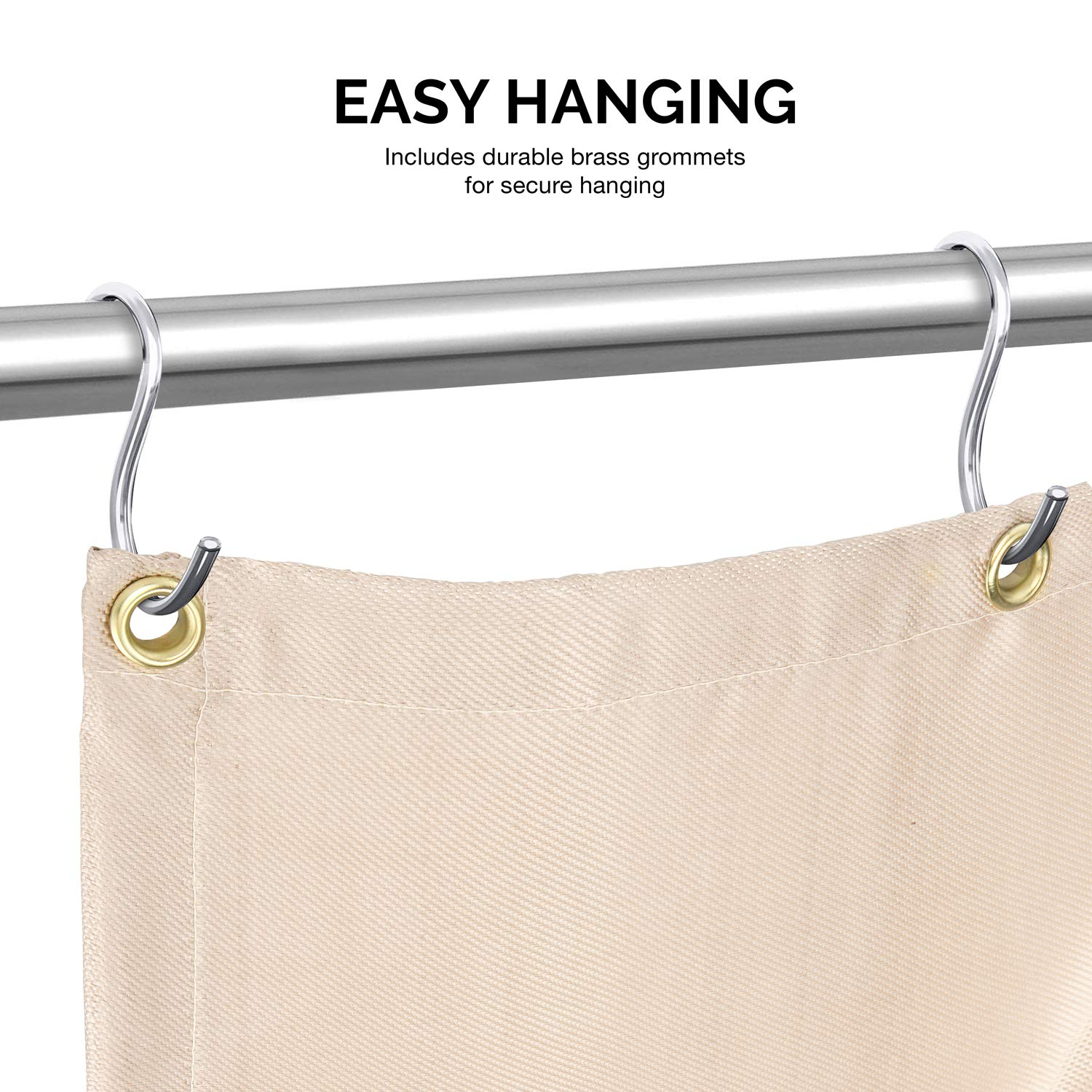 Neiko 10909A Fiberglass Welding Blanket and Cover, 6' x 8'   Brass Grommets for Easy Hanging and Protection by Neiko (Image #5)