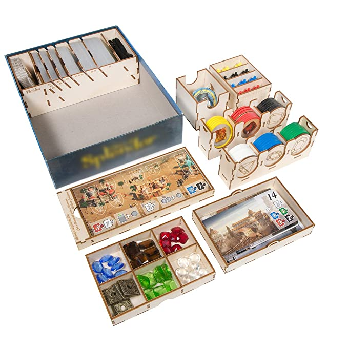 The Broken Token Box Organizador para Ciudades de Splendor: Amazon ...