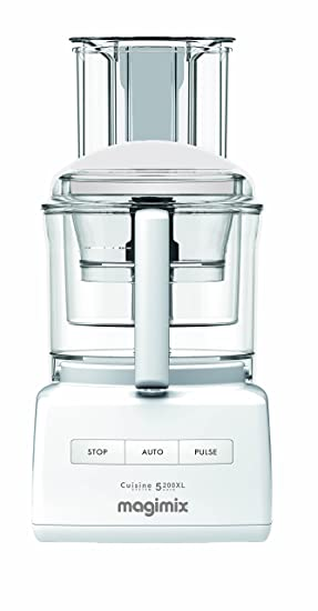 Magimix 5200xl food processor white amazon kitchen home magimix 5200xl food processor white forumfinder Images