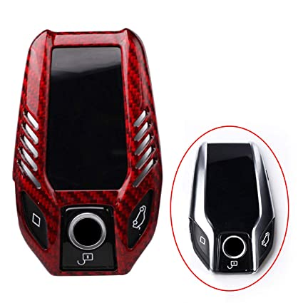 Amazon Com Fancyauto Car Key Cover Case Carbon Fiber Key Holder For