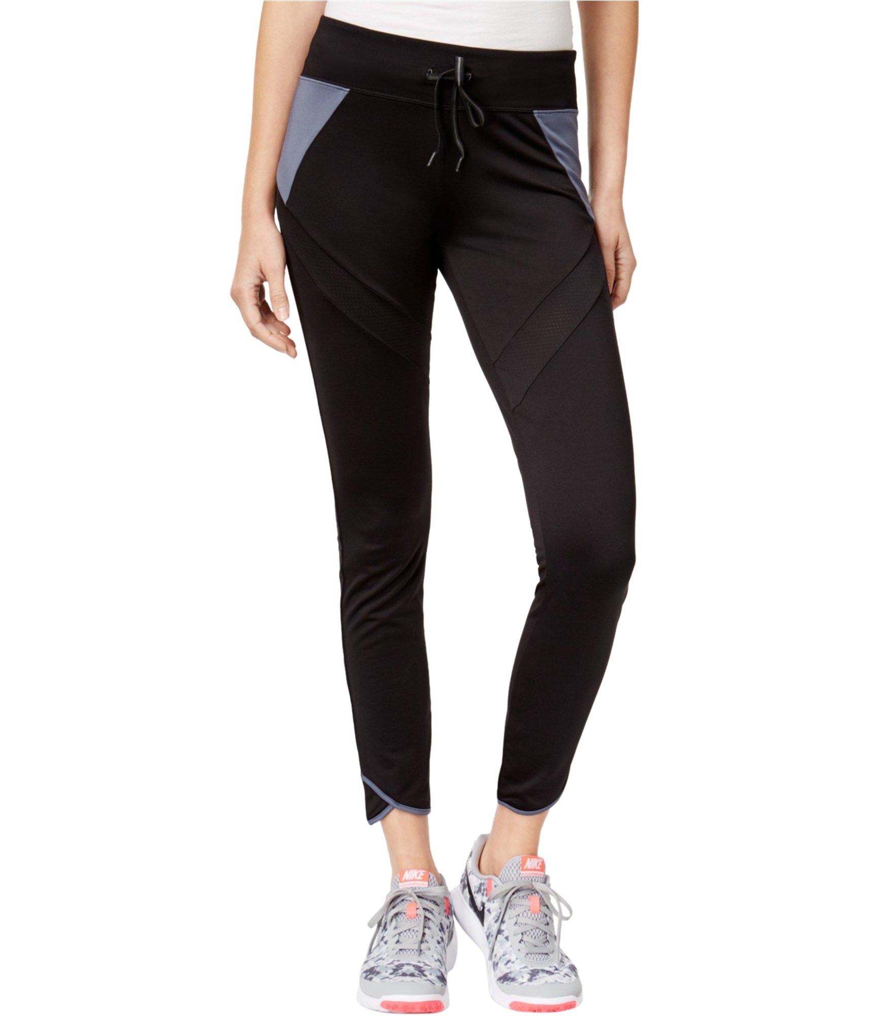 Energie Womens Harper Colorblocked Casual Leggings Black L/37 - Juniors