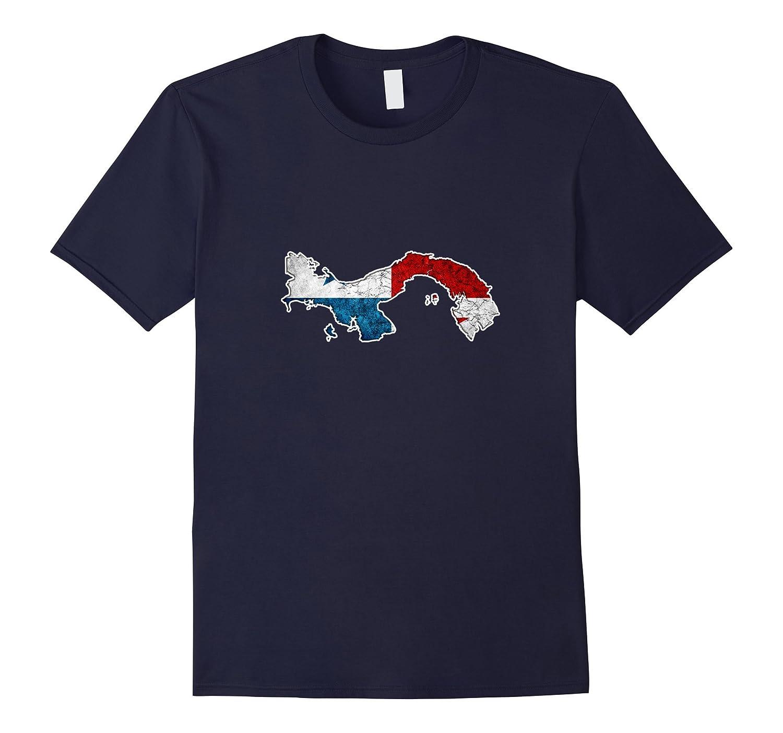 a5079d2b Panama Map Flag T-shirt-TH - TEEHELEN