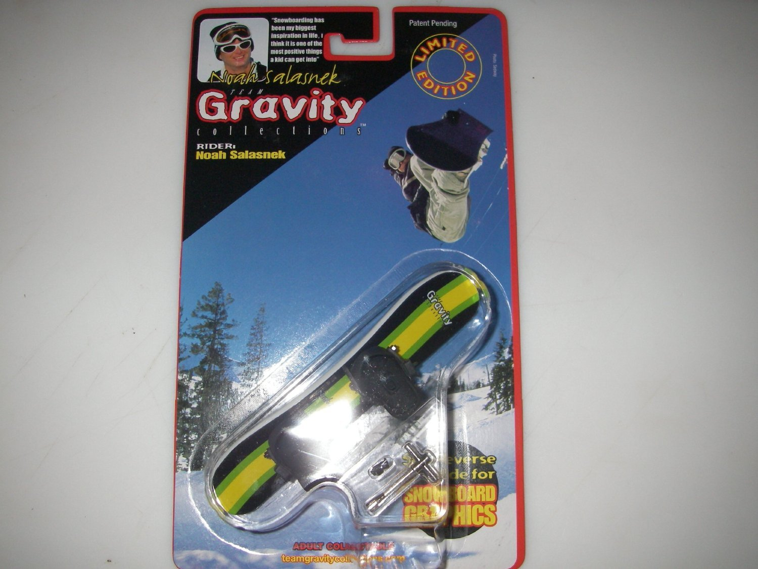 Team Gravity Finger Snowboard - Guy Rider